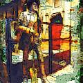 Phil Lynott In Dublin by Miki De Goodaboom
