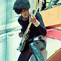 Phil Lynott Of Thin Lizzy - Black Rose Tour Day On The Green 7-4-79  by Daniel Larsen
