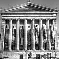Philadelphia Art Museum Back 1 Bw by Constantin Raducan