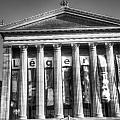 Philadelphia Art Museum Back 2 Bw by Constantin Raducan