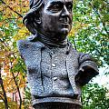 Philadelphia Benjamin Franklin Penny Bust by Constantin Raducan