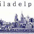Philadelphia Blueprint  by Olivier Le Queinec