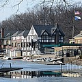 Philadelphia - Boat House Row by Cindy Manero