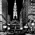 Philadelphia City Hall 1916 by Benjamin Yeager