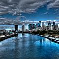 Philadelphia  Cityscape 2 by Constantin Raducan