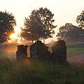 Philadelphia Cricket Club At Sunrise by Bill Cannon