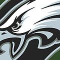 Philadelphia Eagles Football by Tony Rubino