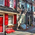 Philadelphia Elphreth's Alley by Constantin Raducan