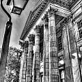 Philadelphia First Bank 2 Bw by Constantin Raducan