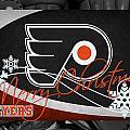 Philadelphia Flyers Christmas by Joe Hamilton