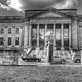 Philadelphia Franklin Museum 2 Bw by Constantin Raducan