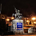 Philadelphia Museum Of Art At Night - East Entrance by Bill Cannon