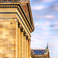 Philadelphia Museum Of Art Facade by Jerry Fornarotto