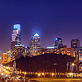 Philadelphia Nightscape by Olivier Le Queinec