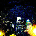 Philadelphia Pennsylvania At Night From The River Walk by Mother Nature