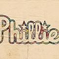 Philadelphia Phillies Poster Art by Florian Rodarte