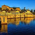Philadelphia Skyline by Louis Dallara