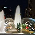 Philadelphia - Swann Fountain - Night by Bill Cannon