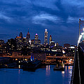 Philadelphia Twilight by Jennifer Ancker