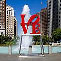 Philadelphia's Love Park by Bill Cannon