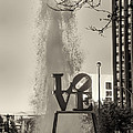Philadelphia's Love Story In Sepia by Bill Cannon