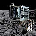 Philae Lander On Comet 67pc-g by Science Source