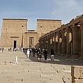 Philae Temple by Olaf Christian
