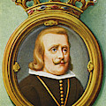 Philip Iv, King Of Spain Reigned by Mary Evans Picture Library