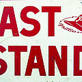 Phillies East Stand Sign - Connie Mack Stadium by Bill Cannon