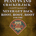 Phillies Peanuts And Cracker Jack  by Movie Poster Prints