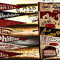 Phillies Pennants by Bill Cannon