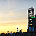 Phillies Stadium At Dawn by Bill Cannon