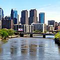 Philly Bridges Buildings by Art Dingo