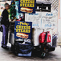Philly Cheese Steak Cart by Bill Cannon
