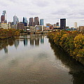 Philly Fall River View by Alice Gipson