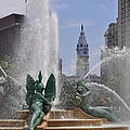 Philly Fountain by Bill Cannon