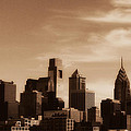 Philly Skyline 2013 by Brenda Conrad