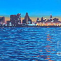 Philly Skyline by Elisabeth Olver