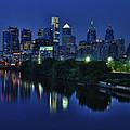 Philly Skyline by Mark Fuller