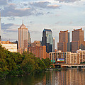 Philly Summer Skyline by Jennifer Ancker