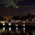 Philly Waterworks At Night by Bill Cannon