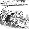 Philosopher's Holiday Wittgenstein At The World by Lee Lorenz