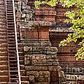 Phimeanakas Temple Steps by Rick Piper Photography