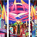 Phish New York For New Years Triptych by Joshua Morton