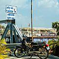 Phnom Penh Harbour by Mark Llewellyn