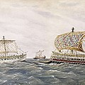 Phoenician And Assyrian Battle Ships by Everett