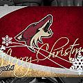 Phoenix Coyotes Christmas by Joe Hamilton