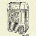 Phonograph Cabinet 1939 Patent Art by Prior Art Design