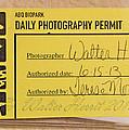 Photo Permit by Walter Herrit