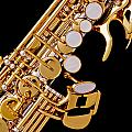 Photograph Of A Soprano Saxophone Color 3355.02 by M K  Miller
